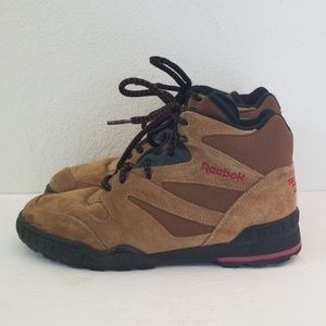 Vintage 90s Reebok Mens Hiking Outdoor Boots 8.5